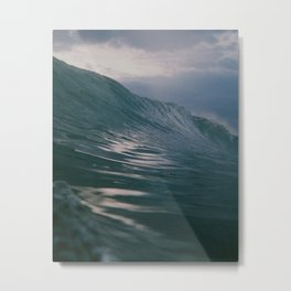 Analog Wave Metal Print