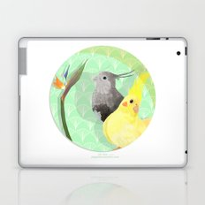 Two Cockatiels Laptop & iPad Skin