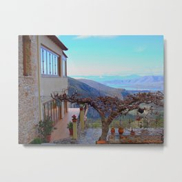 Delphi Valley, Greece  Metal Print