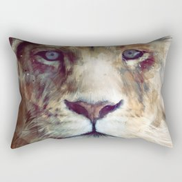Lion // Majesty Rectangular Pillow
