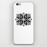 knit iPhone & iPod Skins featuring knit flake by Miranda J. Friedman