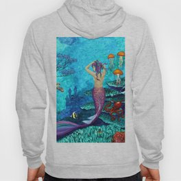 A Fish of a Different Color - Mermaid and seaturtle Hoody