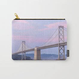 Bay Bridge at Dusk Carry-All Pouch