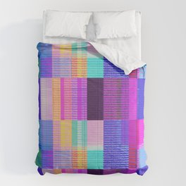 Abstract Glitch Art Comforters