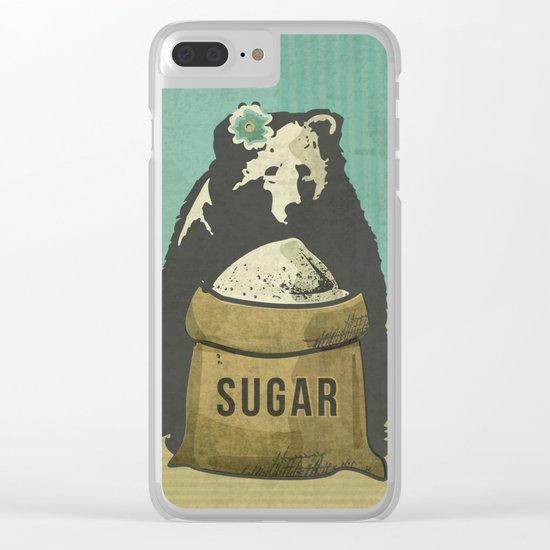 Sugar Bear Clear iPhone Case