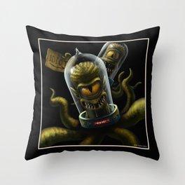 Kang and Kodos (The Simpsons) Throw Pillow