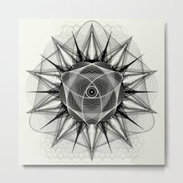 styr stryy monochrome Metal Print