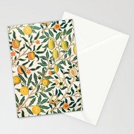 Lemon tree pattern vintage William Morris print Stationery Cards