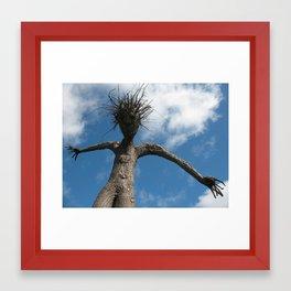 Tree Man Framed Art Print
