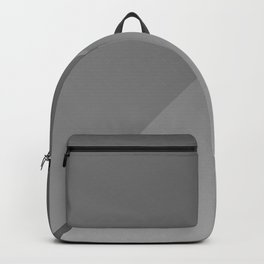 3D Black & Grey Spiral Art Backpack