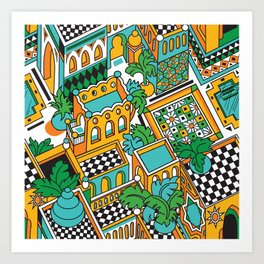 Marrakesh Art Print
