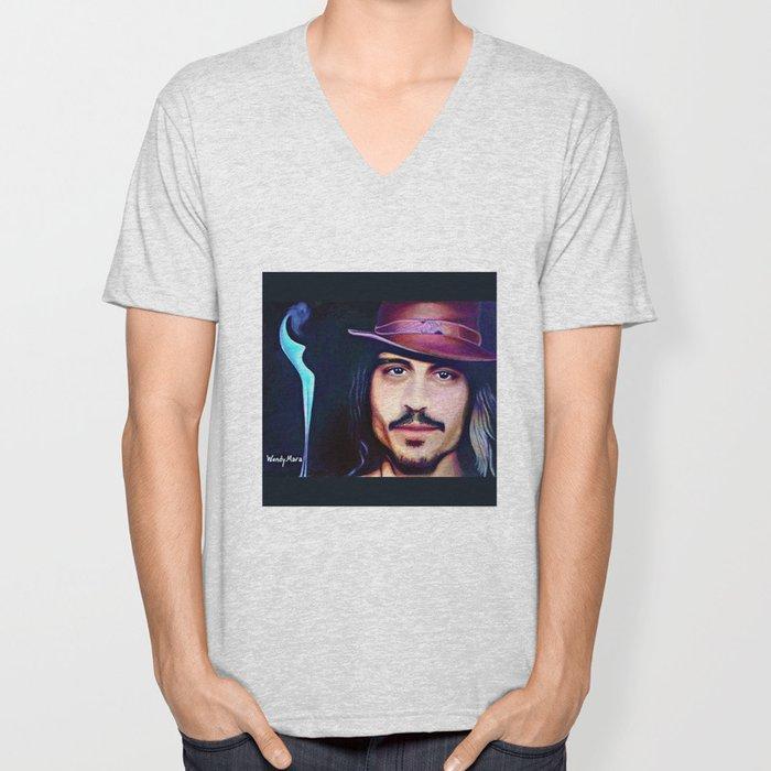 Johnny Depp Unisex V-Neck