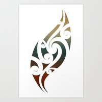 maori Art Prints featuring Maori Style by Lonica Photography & Poly Designs