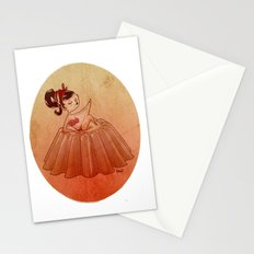pin up jelly Stationery Cards