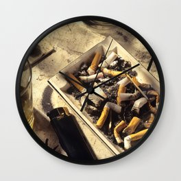 The day after a night out Wall Clock