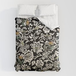 Just Bees and Dials and Fish and Tulips Comforters