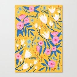Magnolias and Camellias! Canvas Print