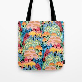 Fungi World (Mushroom world) - BKBG Tote Bag