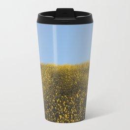 Mustard Flowers Travel Mug