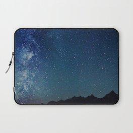 Milky Way Over the Tetons Laptop Sleeve