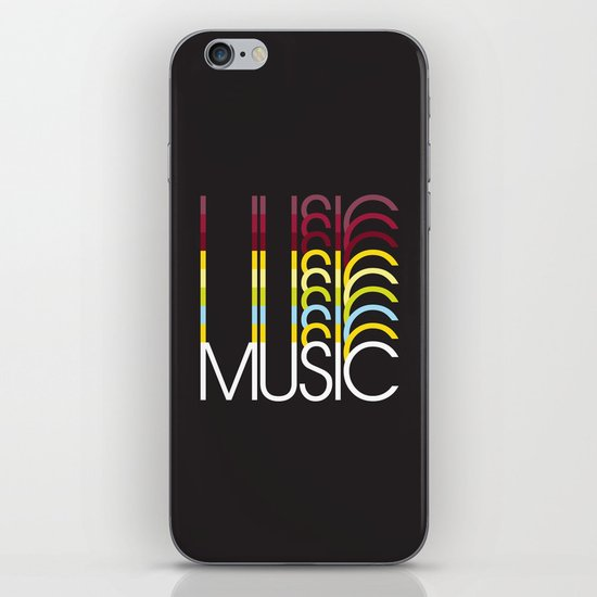 Music iPhone & iPod Skin