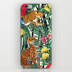tropical wild  iPhone & iPod Skin
