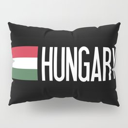Hungary: Hungarian Flag & Hungary Pillow Sham
