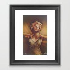 Bombshell2 Framed Art Print