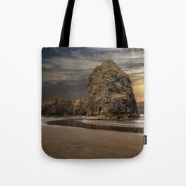 Sea Stacks at Sundown Tote Bag