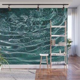 Iridescent Teal Purple Ocean Dream #1 #water #decor #art #society6 Wall Mural