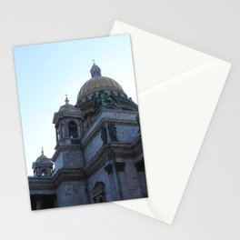 The architecture of St. Isaac's Cathedral. Stationery Cards