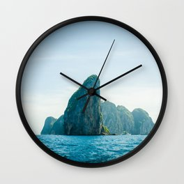Far Places Wall Clock