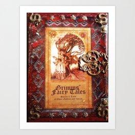 Tales of Old Art Print