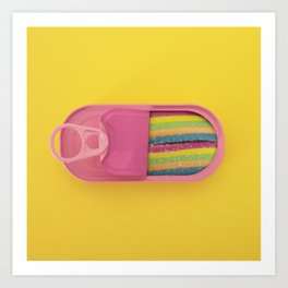 Canned candy Art Print