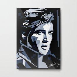 Elvis Presley canvas print Metal Print