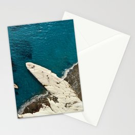 Governor's beach rock Stationery Cards