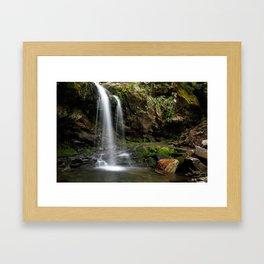 Grotto Falls Framed Art Print