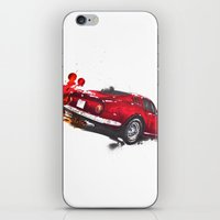 ferrari iPhone & iPod Skins featuring Ferrari 275 by Claeys Jelle Automotive Artwork