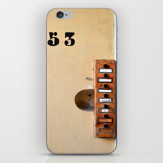 Ring my bell iPhone & iPod Skin