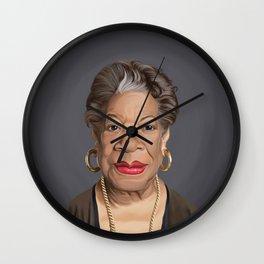 Celebrity Sunday ~ Maya Angelou Wall Clock