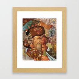 """""""The Musician of the leaves"""" Framed Art Print"""