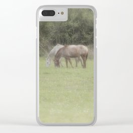 Spring Meadow V Clear iPhone Case