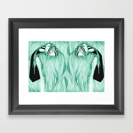 Sisters VIII Framed Art Print