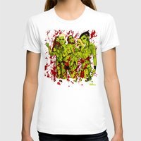 zombies T-shirts featuring SEXY ZOMBIES by Thomas B.- Rock Artwork