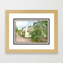 Devon Long House Framed Art Print