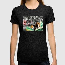 Tropical Basset T-shirt