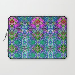 Fractal Art Stained Glass G372 Laptop Sleeve