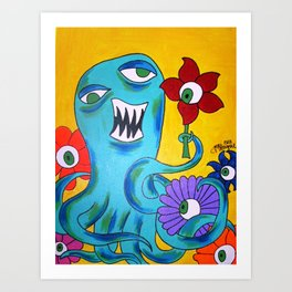 The Kracken Art Print
