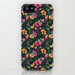 Shrunken Head Hawaiian Paradise iPhone Case