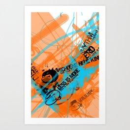 Gonzos Coded, Remixed. 2007_series01_shot11 Art Print